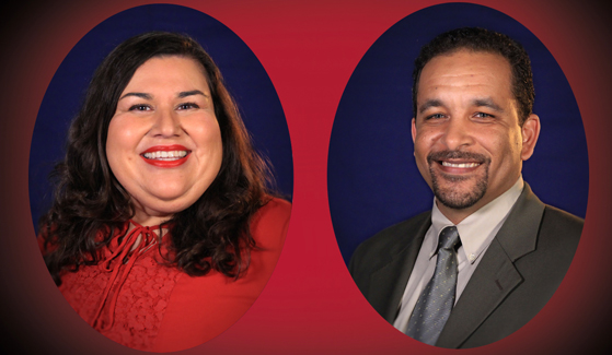2020 San Diego County Teachers of the Year Hilda Martinez and Don Dumas