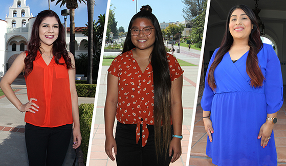 From left to right: Vanessa Serrano, Talia Kieu and Maribel Cruz Reyes (Photos and Video: Ryan Schuler)