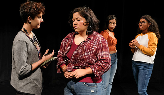 """Just Like Us"" is a documentary-style play that looks at the challenges of immigration status in America."