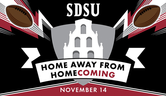 SDSU's annual homecoming football game has been set for 1 p.m. Saturday, Nov. 14.