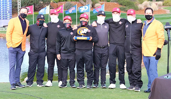 SDSU men's golf team