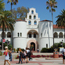students walking in front of Hepner Hall
