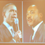 photos of Barack Obama and Martin Luther King Jr.