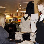 mannequin wearing sweater