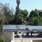 New solar panels will provide energy for the new Aztec Student Union.