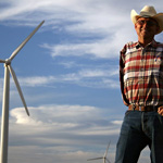 Cliff Etheridge, Texas wind farmer