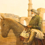Muslim Traveler Illustration by Tom Voss