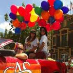 SDSU students, faculty and staff participated in the annual Pride parade.