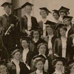 The first graduating class of the Normal School, which later became San Diego State University.