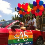 Associated Students participate in the Pride Parade