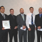 Nine of the 16 SAME scholarships awarded this year went to SDSU student veterans