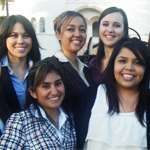Members of the Hispanic Students Business Association