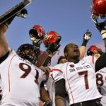SDSU will play BYU in the Dec. 20, 2012 Bowl Game.