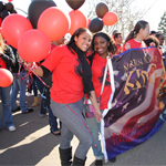 Students in the MLK Parade