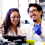 Students in the lab of Mark Sussman, Ph.D., director of SDSU
