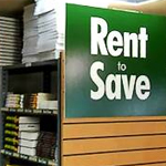 Rent-to-Save sign