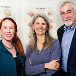 SDSU researchers Jennifer Thomas, Sarah Mattson and Ed Riley