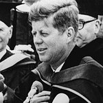 President John F. Kennedy spoke at SDSU