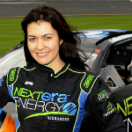 Leilani Münter at Daytona, photo by: Douglas E. Murray
