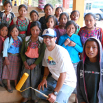 SDSU students help at a Guatemalan elementary school over their spring break.