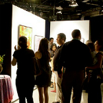 Guests at A is for Art 2012 at the KPBS Studios
