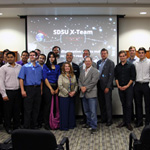 The SDSU X-Prize Team includes more than 60 members from five SDSU colleges.