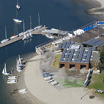 Mission Bay Aquatic Center adjacent to Mission Bay