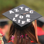 Doug KelleyThe Class of 2013 has a bright future, but they will always be Aztecs.