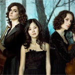 Photo of the members of the Cecilia String Quartet
