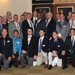 The SDSU Delta Upsilon chapter and alumni.