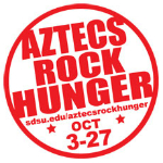 Aztecs Rock Hunger logo