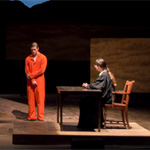 Actors in the Laramie Project on stage