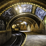 An abandoned New York City subway station. Photo by: John Paul Palescandolo & Eric Kazmirek.