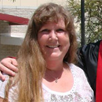 Vickie Hokenson's son, Chris, graduated from SDSU in August 2012.