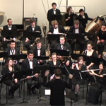 Members of the SDSU wind symphony