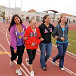 Members of the organization participating in the 2013 Relay for Life at SDSU.