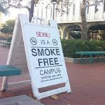 SDSU No smoking signage
