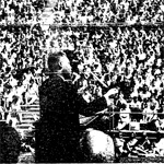 Martin Luther King Jr. Speaking in the Open Air Theatre at SDSU in 1964