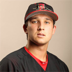 San Diego State University sophomore right-hander Bubba Derby