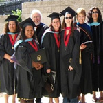 The rehab counseling program at graduation