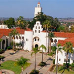 An image of SDSU's Hepner Hall.
