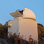 SDSU's Mt. Laguna Observatory in the Cleveland National Forest is an ideal spot for astronomical research.