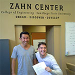 Students at the Zahn Center