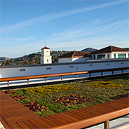Student union roof