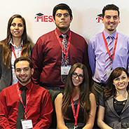 SDSU students who participated in the conference