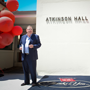 Generations of Aztecs will be reminded of Terry and his Aztec spirit thanks to Atkinson Hall.