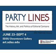 Party Lines to Open at SDSU Downtown Gallery