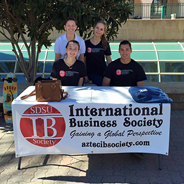 The SDSU International Business Society meets every Thursday from 6:30 to 8 p.m. in Adams Humanities, Room 4176. (Credit: International Business Society)