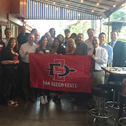 Last month, 25 SDSU alumni and friends living in Colorado gathered together for a mixer.