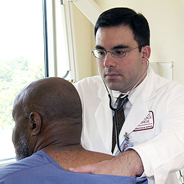Language barriers can make it difficult for patients to communicate with doctors. (Credit: Wikimedia Commons/National Cancer Institute)